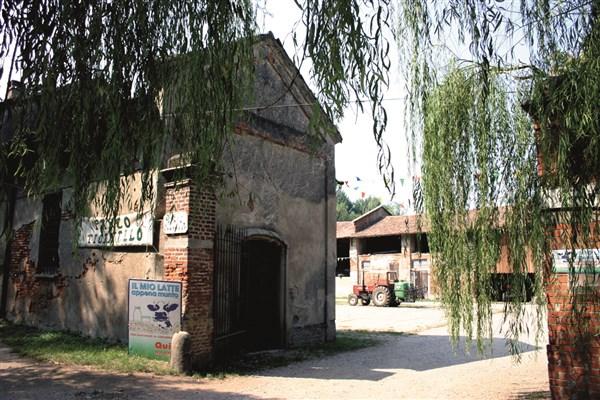 Ingresso Cascina Campazzo, Parco Agricolo Ticinello, Milano