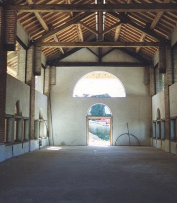 lavori per il recupero del portico, 2005