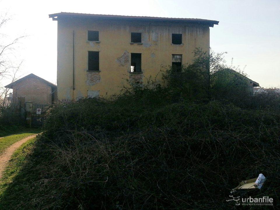 Cascina Molino Dorino, edificio novecentesco