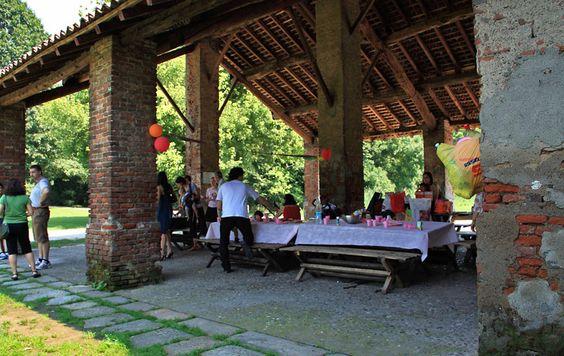 area delle feste cascina San Romano, Boscoincittà, Milano