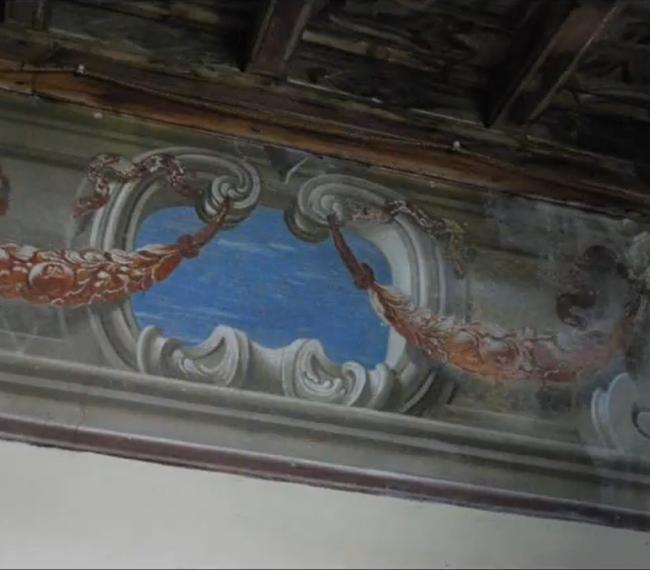 Affreschi di Hayez in Cascina Monterobbio, Milano