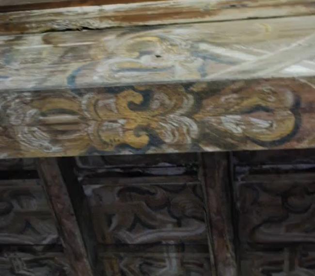 Affreschi di Hayez sul soffitto di Cascina Monterobbio, Milano