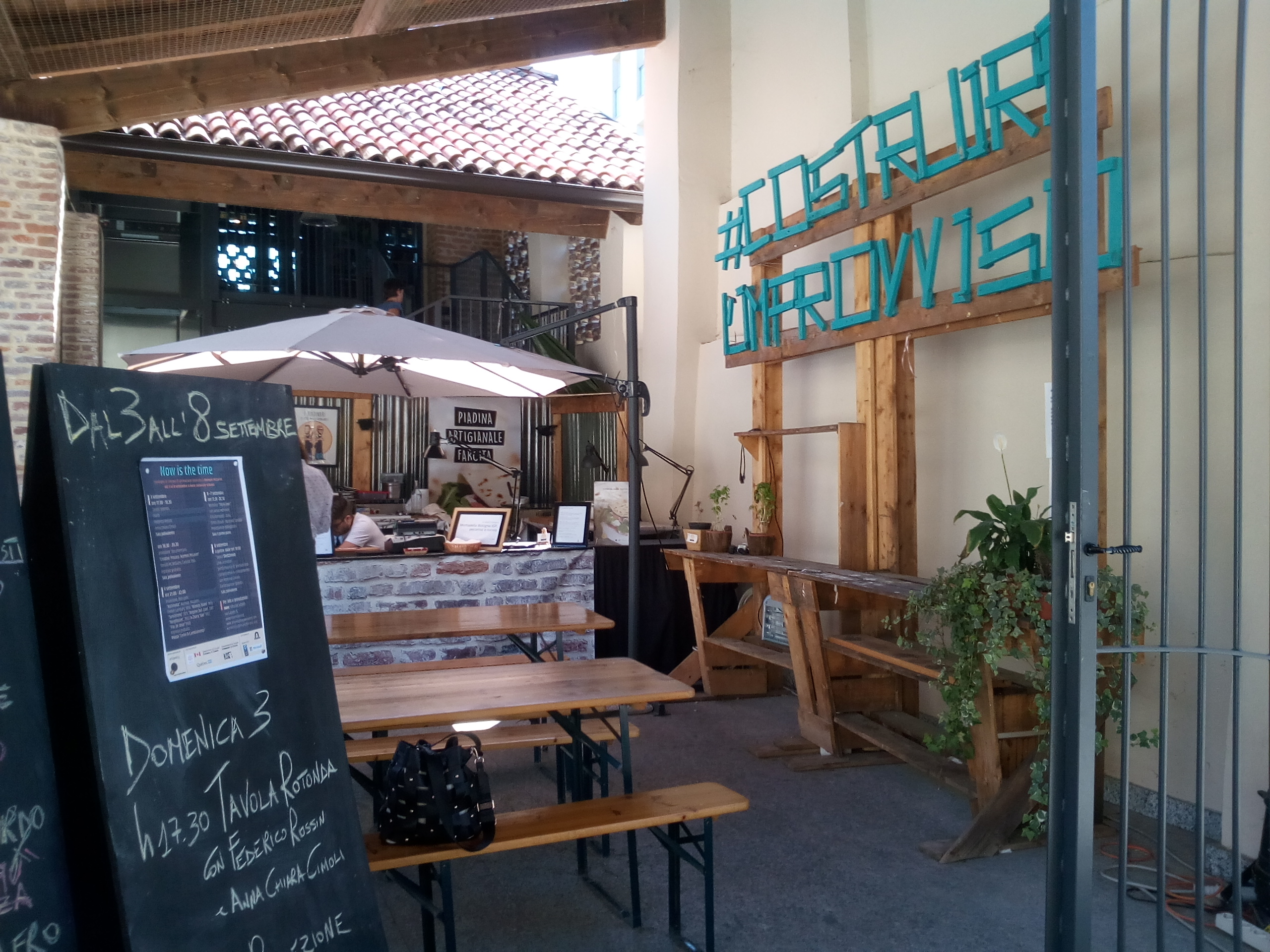 piadineria di Cascina Torrette di Trenno, Mare culturale Urbano