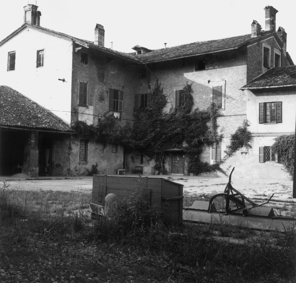 Cascina Roma foto d'epoca, San Donato milanese