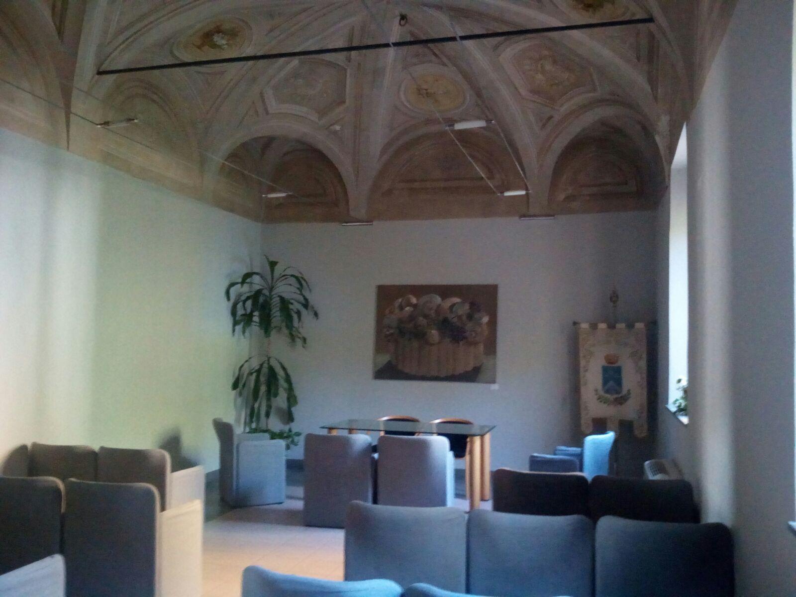 Saletta dei matrimoni, Cascina Roma, San Donato milanese